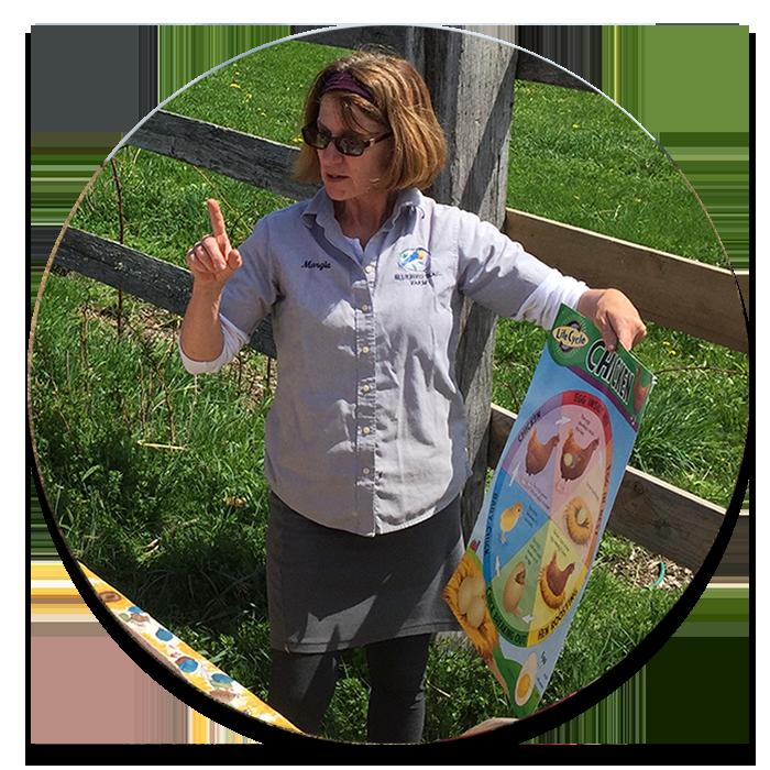 Margie - Owner: Bluebird Trail Farm